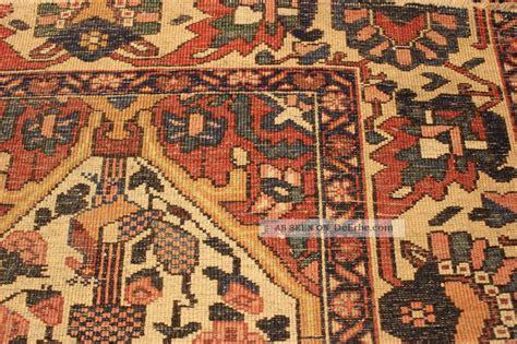 80 jahre antiker blumen bachtiar serapi orient teppich rug