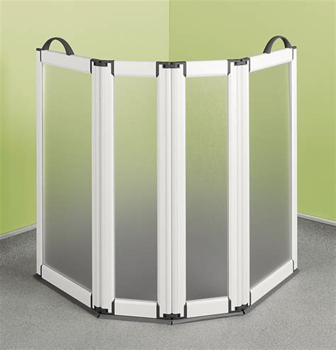 Portable Doors For Home by Portable Folding Screen 4 Panels
