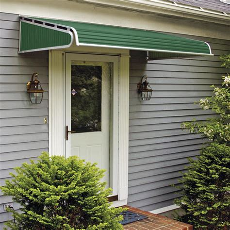 window awnings menards 1500 series aluminum door canopy with sidewings at menards 174