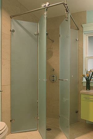folding shower for small spaces wide open baths for small spaces fine homebuilding