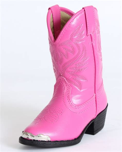 smoky mountain 174 mesquite pink boots toddler