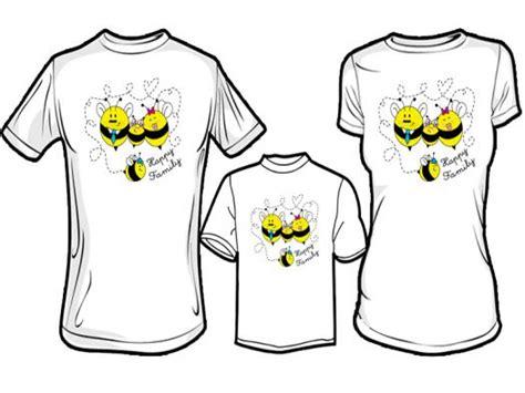 desain gambar kaos couple jual kaos couple keluarga desain kaos keluarga family bee