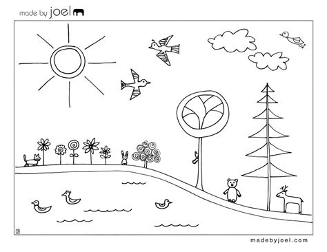 Made By Joel 187 Earth Day Coloring Sheet Coloring Pages Of Children S Day