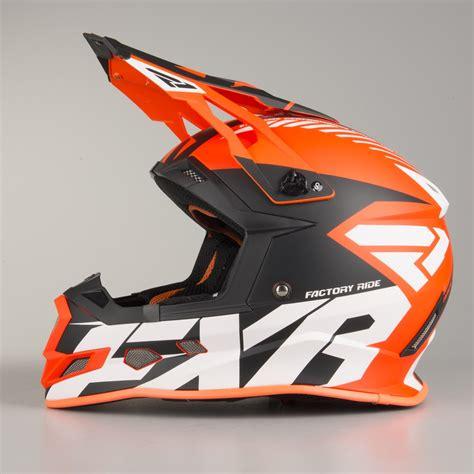 orange motocross helmet 2018 fxr racing boost cx prime helmet orange black white