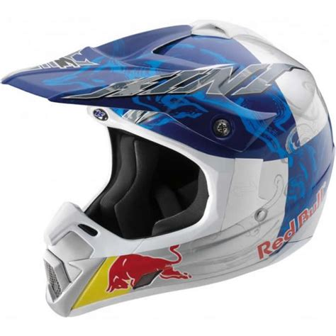 Kini Red Bull Competition Enduro Mx Motocross Helmet Ebay