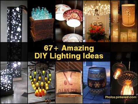 amazing diy crafts 67 amazing diy lighting ideas