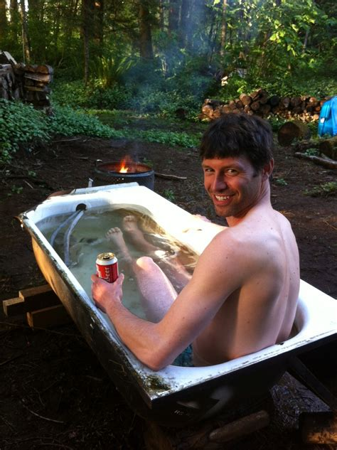 heated jacuzzi bathtub redneck wood heated hot tub pictures to pin on pinterest pinsdaddy