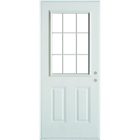 stanley doors 33 375 in x 82 375 in colonial 9 lite 2