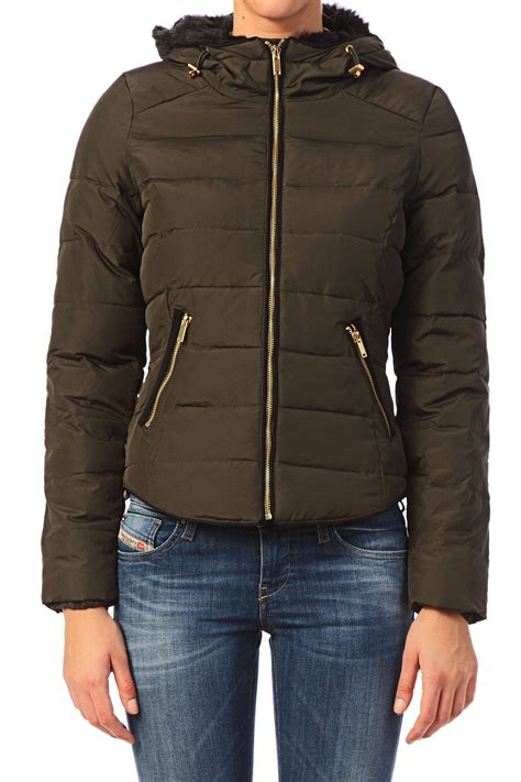 Green Quilted Jacket by Vero Moda Quilted Jacket In Green Lyst