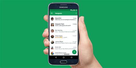 hangouts android hangouts android uygulamasına sohbet