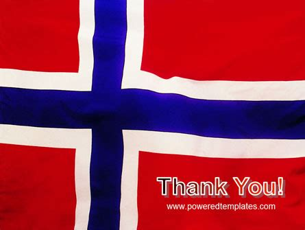 powerpoint themes norway flag of norway powerpoint template backgrounds 02149