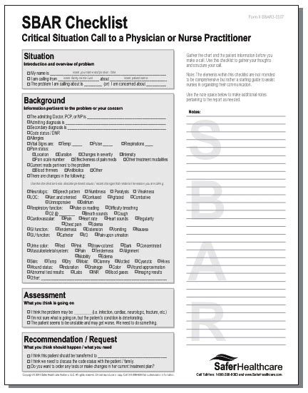 sbar shift report sheet pictures to pin on pinterest
