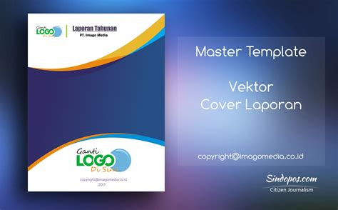 design cover buku laporan download template desain cover laporan keren imago media