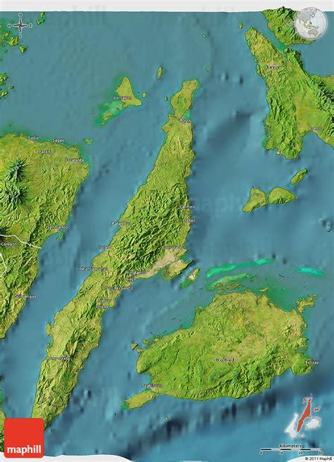 map philippines satellite satellite 3d map of cebu