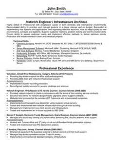 Best Resume Sles For Network Engineer 1000 Images About Best Network Engineer Resume Templates Sles On Resume