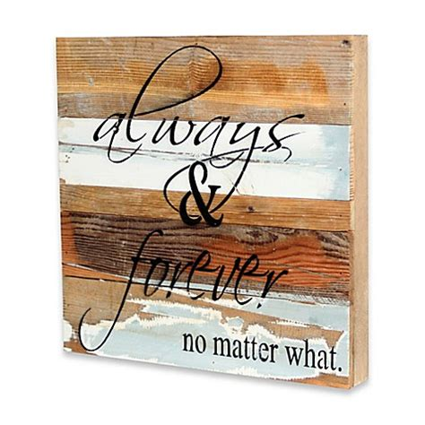 bed bath and beyond wall art always forever inspirational reclaimed wood wall art bed bath beyond
