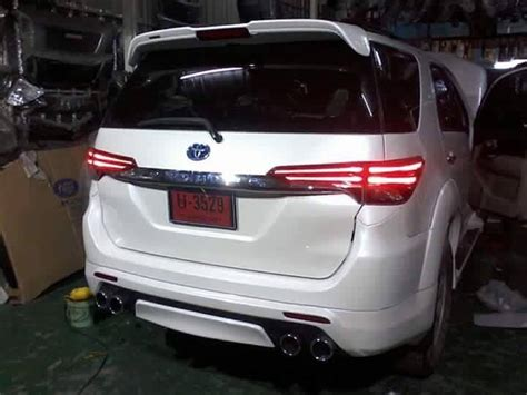 modified toyota fortuner from thailand images and design
