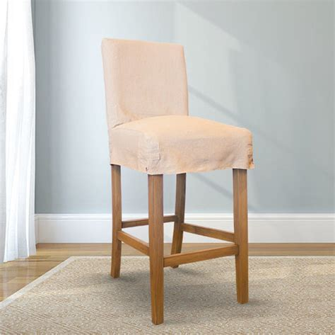 pub chair slipcovers slipcovered bar stools interesting ivory bar stool