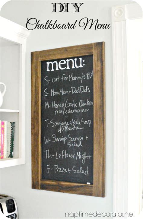 diy chalkboard menu diy chalkboard menu