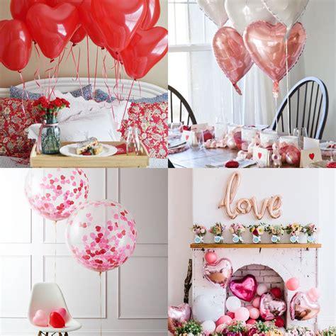 idee tavola san valentino idee per decorare la casa con i palloncini per san