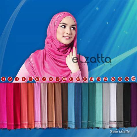Jilbab Segi Empat Polos Terbaru es 0014 jilbab segi empat kerudung polos terbaru kaila