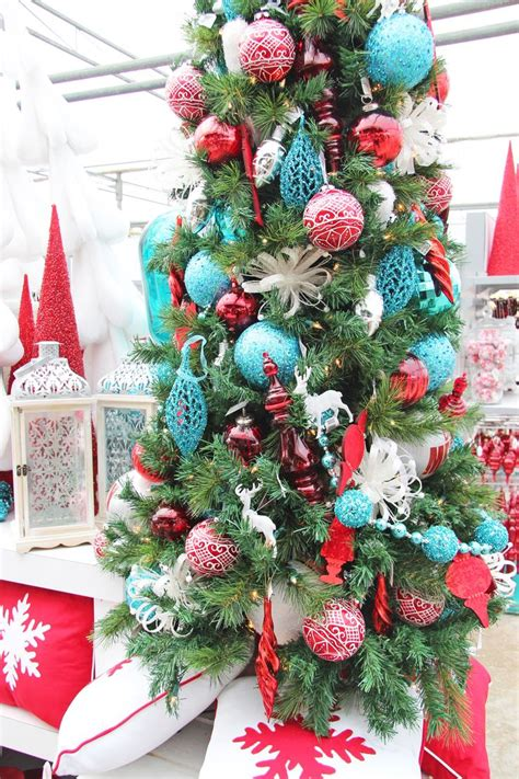 29 best teal red christmas images on pinterest aqua