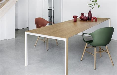 tavolo kristalia thin k longo wood table restaurant tables from kristalia