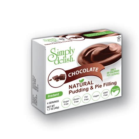 carbohydrates pudding simply delish chocolate pudding low carb canada