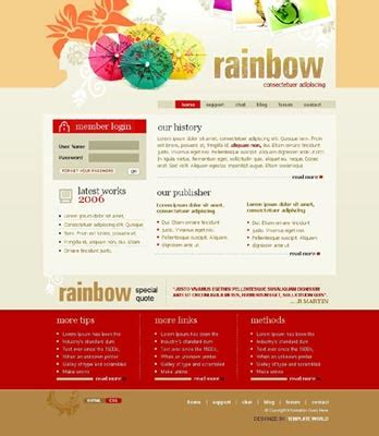 web layout code 41 web design templates and code