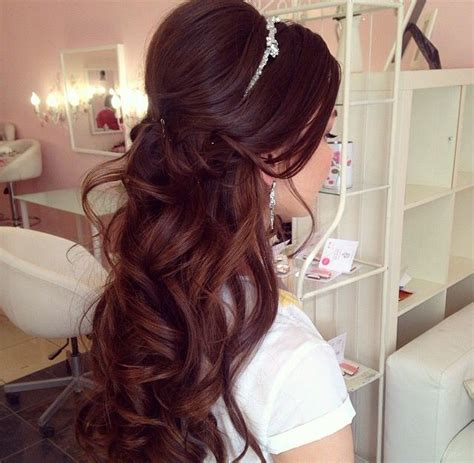 wedding hair half up half curls half up half wedding hairstyles hair curls