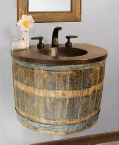 bathtub whiskey my version of whiskey barrel sinks country decor
