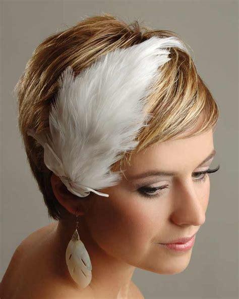 da hairstyle for women свадебные прически для коротких волос с перьями