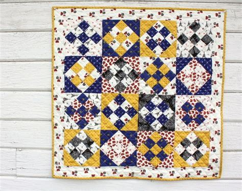 Nine Patch Quilt Tutorial by Small Wonders Fabric Quilt Block Tutorial Diary Of A