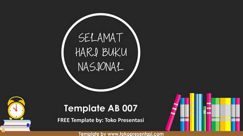 ab template powerpoint gratis tema buku jasa