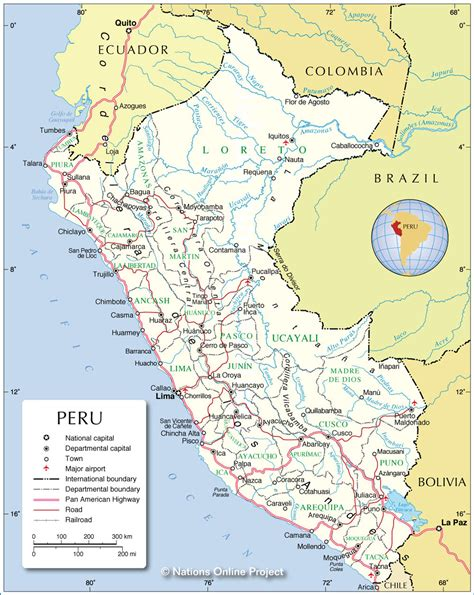 map of peru map of peru location and country map of peru travel guide