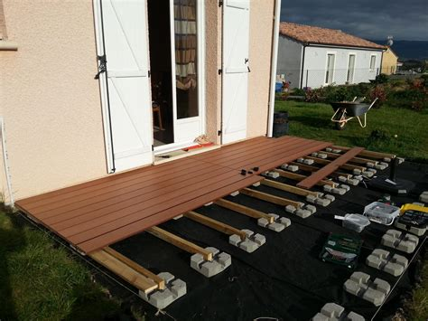 Pose De Lame De Terrasse 2751 by Comment Poser Des Lames De Terrasse Bois