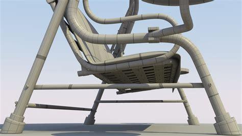 swing objects 3d object patio swing ethereal 3d