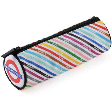 Target Home Decorations by All Change London Tube Lines Barrel Pencil Case
