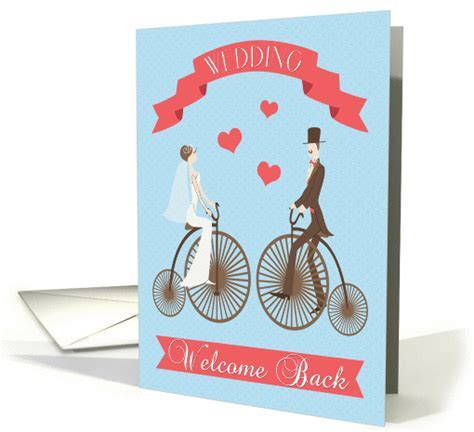 Employee Welcome Back from Wedding card (1436594)