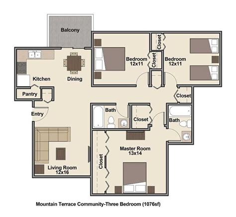 economical 3 bedroom home designs low income apartments denver mountain terrace community