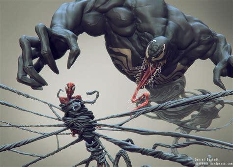 zbrush venom tutorial spider man venom daniel bystedt s blog