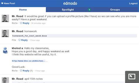 edmodo mobile site mobile esl edmodo an educational alternative to twitter