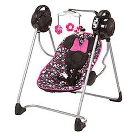 graco minnie mouse swing baby swings sears