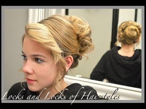 curl side bangs vertically how to curl bangs with a flat iron youtube
