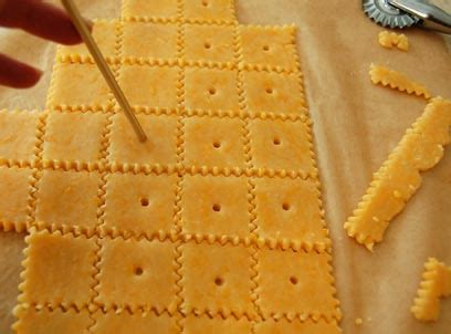 amazing crackers make your own amazing cheese crackers happy