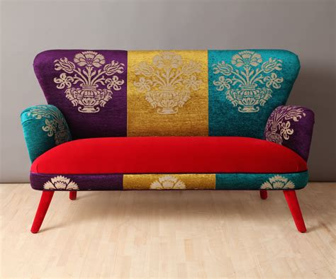 colorful couch colorful velvet sofa adorable home