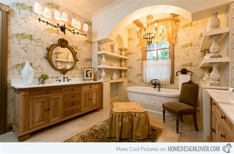 15 Beautiful Mediterranean Bathroom Designs   Home Design Lover