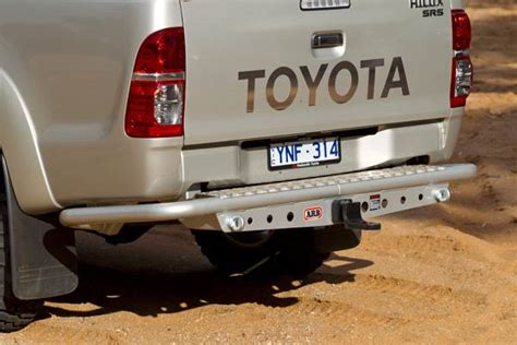 Towing Arb Hilux arb rear step tow bar hilux 05 dc 4wd