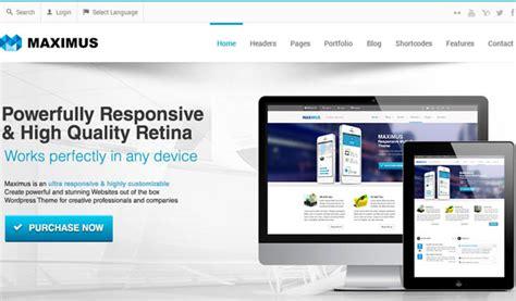 theme editor maximus 80 best responsive wordpress themes wp template