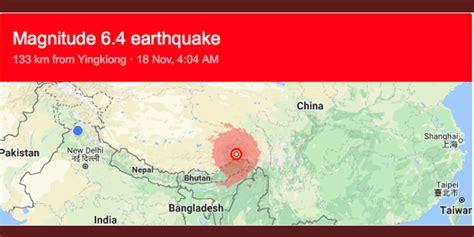 earthquake journal earthquake with 6 9 magnitude hits tibet tremors felt in